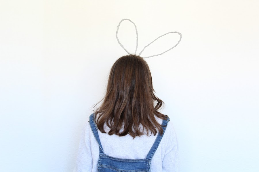 tutorial orejas de conejo para pascua o carnaval