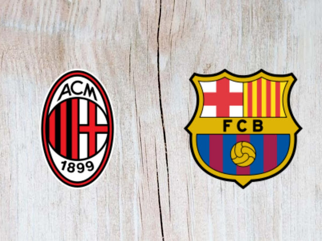 Watch AC Milan vs Barcelona Full Match & Highlights - 05 August 2018