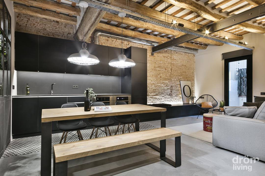 Popolare Un loft in stile industriale a Barcellona UF61