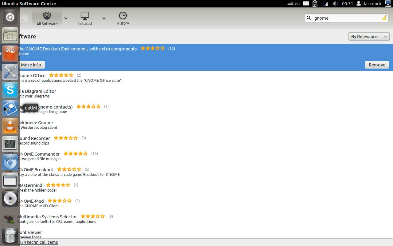 GNOME3 vs Unity on Ubuntu 11 10: my score is 6 - 9 - Linux