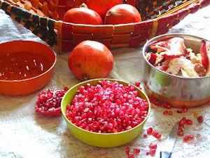 Veg Indian Cooking Pomegranate Juice