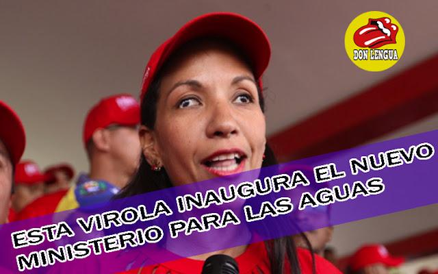 Maduro se inventó un nuevo Ministerio de las Aguas Mansas