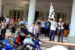 Perjalanan 7 lady biker ke Lombok di mulai