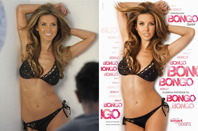 Audrina Patridge Bongo Magazine Before and After
