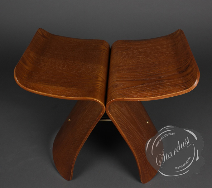 Rosewood Butterfly Sori Yanagi #1 Design Occasional Modern