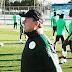 Super Eagles Players Trains Ahead Of Algeria Clash