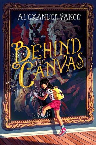 Behind the Canvas book cover