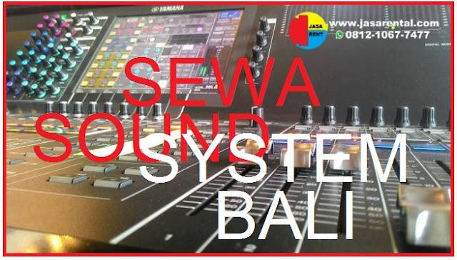 SEWA SOUND SYSTEM BALI