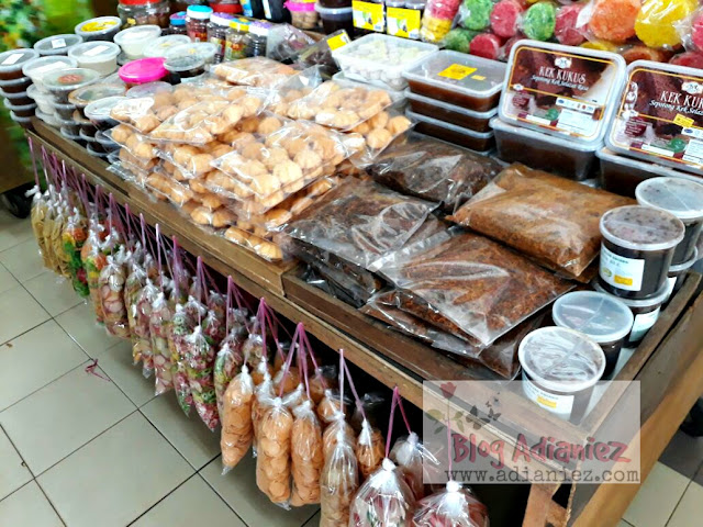 produk iks tradisional di pasar besar melaka