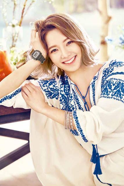 snsd hyoyeon baby g