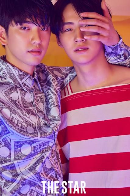 The Star Agustus JB dan jinyoung GOT7