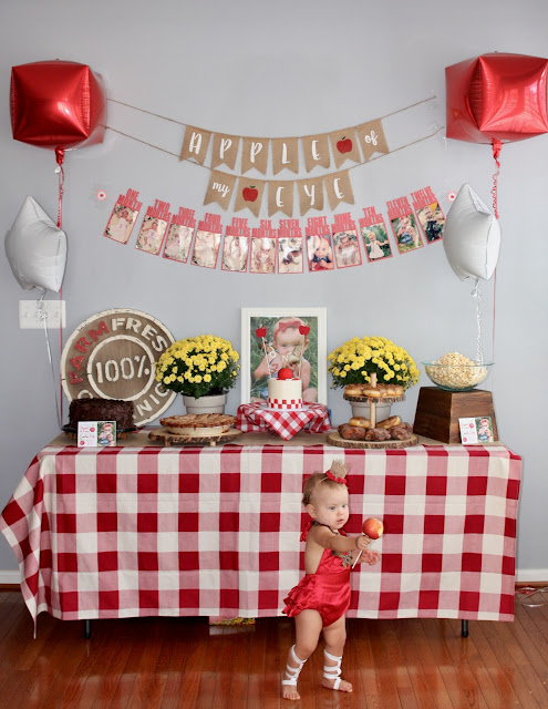"Emilia Reh's ""Apple of my eye"" 1st birthday PARTY"