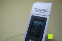 Messung: GHB Messgerät EC Meter TDS Tester Wassertest Leitwertmessgerät