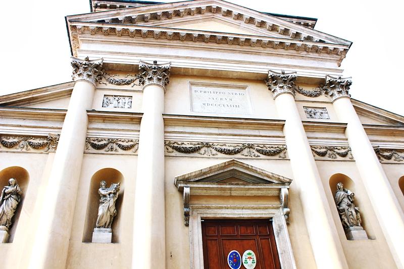 San Filippo Neri Church in Vicenza, crkva San Filippo Neri