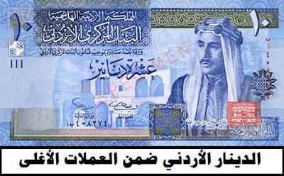 الدينار الاردني من العملات الأغلى - أغلى العملات العربية عالمياً | وظائف ناو