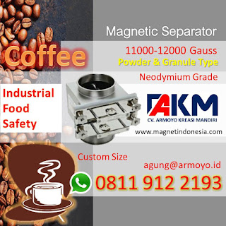 Magnetic Separator Untuk Food Safety Industri Kopi