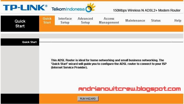cara setting ulang modem speedy tplink adsl + wifi 1