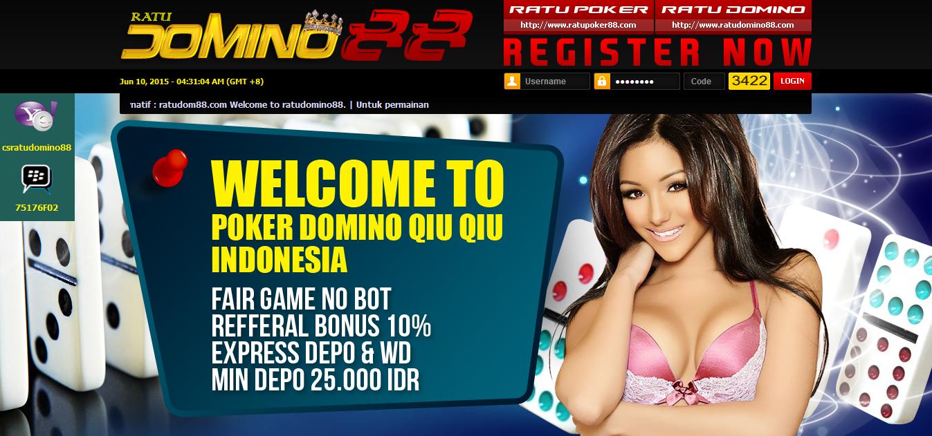 RatuDomino88 Situs Poker dan Domino Berkualitas di Indonesia