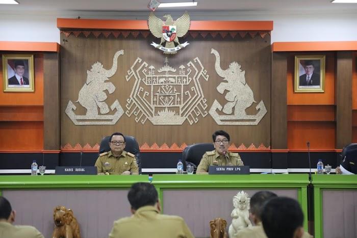 Pemprov Lampung Siap Sukseskan Bulan Bhakti Karang Taruna Tingkat Nasional 2019 di Kota Bandar Lampung