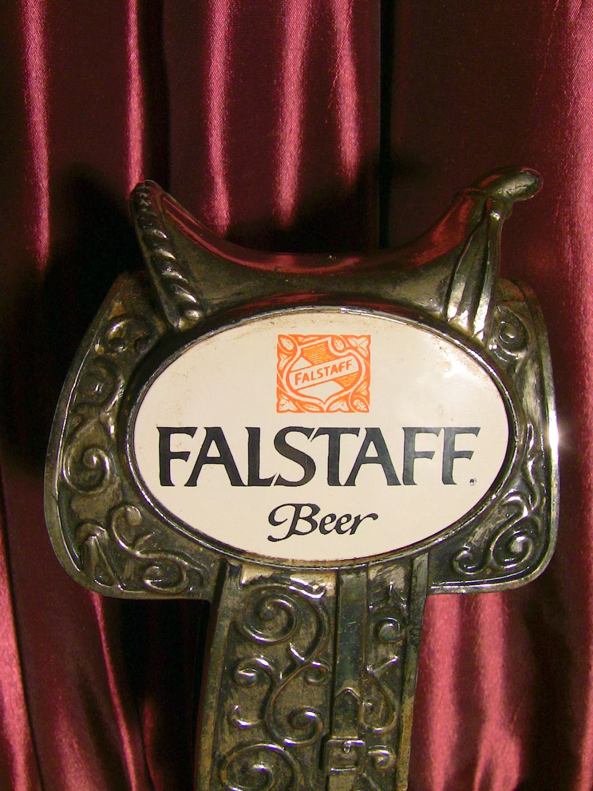 Amazing Tap Handles: Tap Handle #361: Falstaff Saddle
