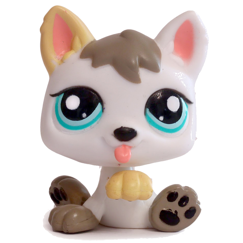 Littlest Pet Shop With Small Dog Cat And Lame