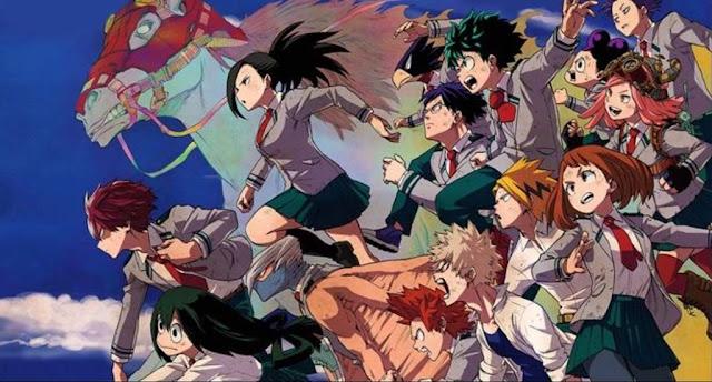 Download OST Opening Ending Anime Boku no Hero Academia 3rd Season Full Version