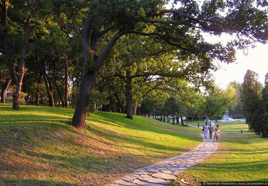 Парк курорта Св. св. Константин и Елена, Болгария