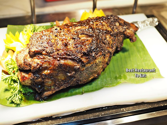 Four Points By Sheraton Puchong Buffet  Roast Lamb aka Kambing Bakar