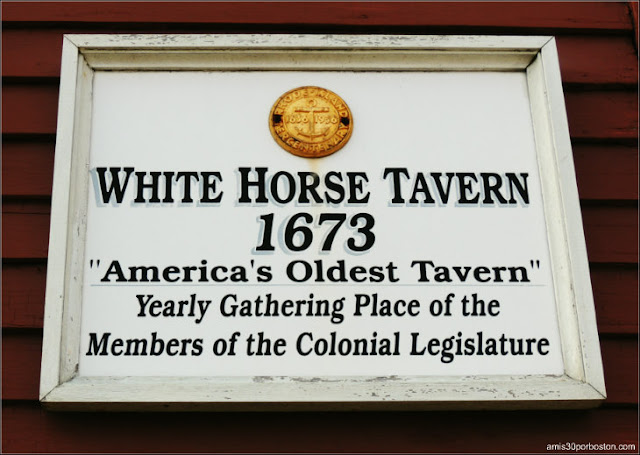 White Horse Tavern, Newport