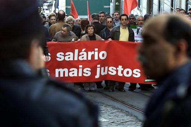 Portugal | Mais salário, menos exploração