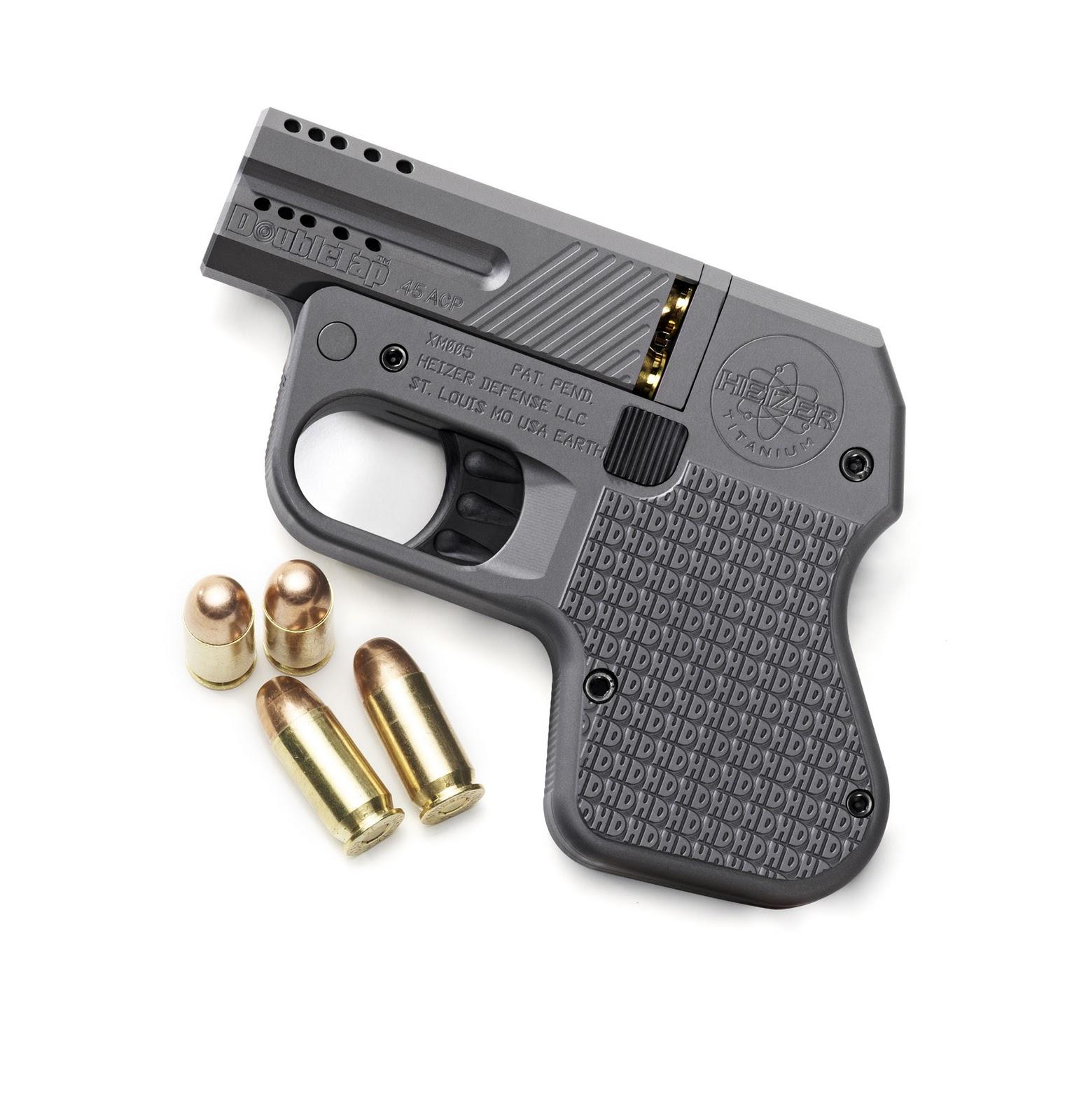 Πιστόλι DoubleTap Heizer -Το λεπτότερο και ελαφρύτερο