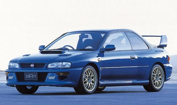 Ficha Técnica Subaru Impreza 22B STi (1998)