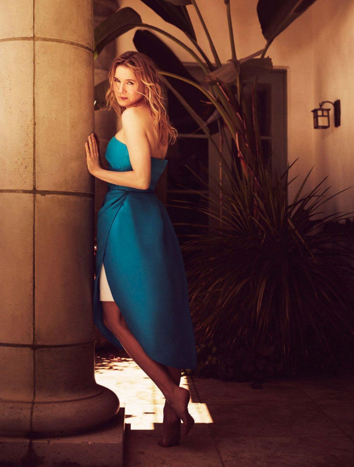 Renee Zellweger PhotoShoot For The Hollywood Reporter September 2016