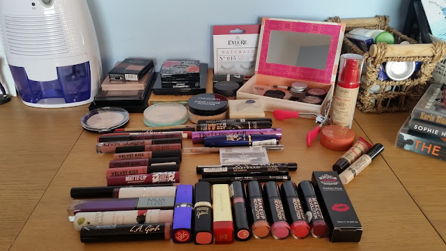 My Current Makeup Collection