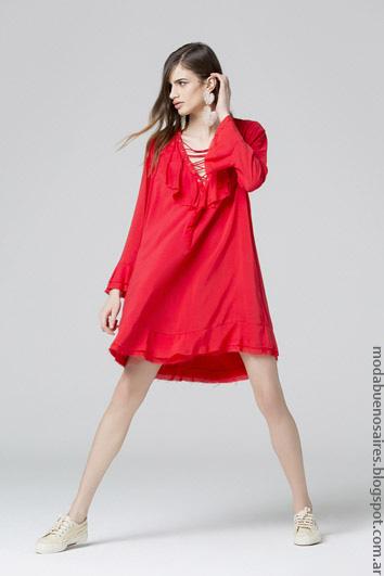 Vestidos verano 2017 ropa de moda 2017. Moda primavera verano 2017.
