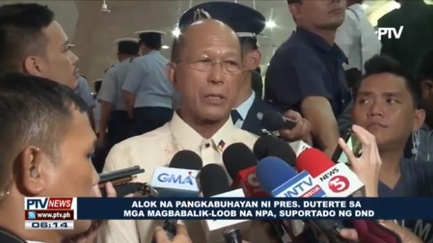 Patunay ang nasabing hakbang ng senseridad ni Pangulong Duterte na makamit ang pangmatagalang kapayapaan sa bansa