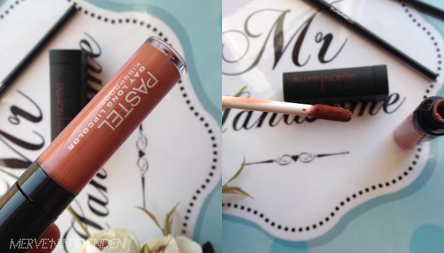 Pastel  Day Long Lipcolor Kissproof 15   Pastel Profashion Matte Lipstick - 551 Soft Rose