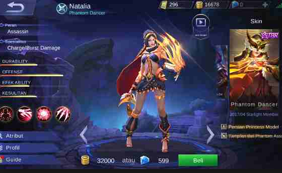 Inilah Daftar Assasin Terkuat Mobile Legend, Lancelot Dan hayabusa Tak Berkutik