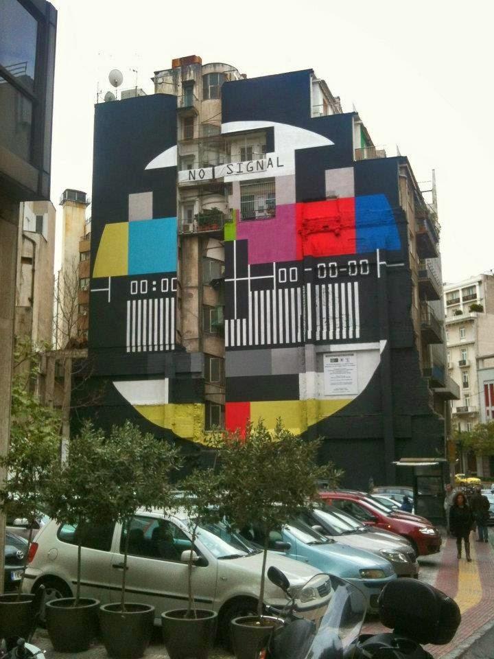 Panos Sklavenitis Street Art Athens