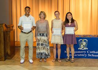 Montgomery Catholic Preparatory School Academic Awards Ceremony Held in May 1