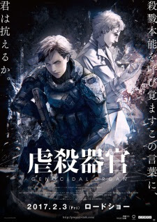 Sinopsis Film Amime Jepang Genocidal Organ (2017)