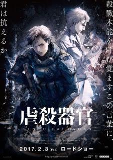 Sinopsis Film Amime Jepang Genocidal Organ (2017)