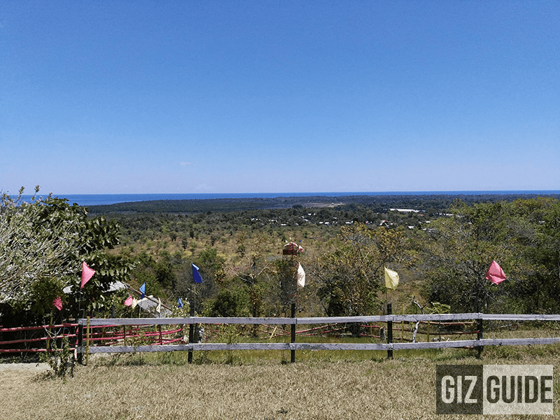 A view at Rancho Zipline