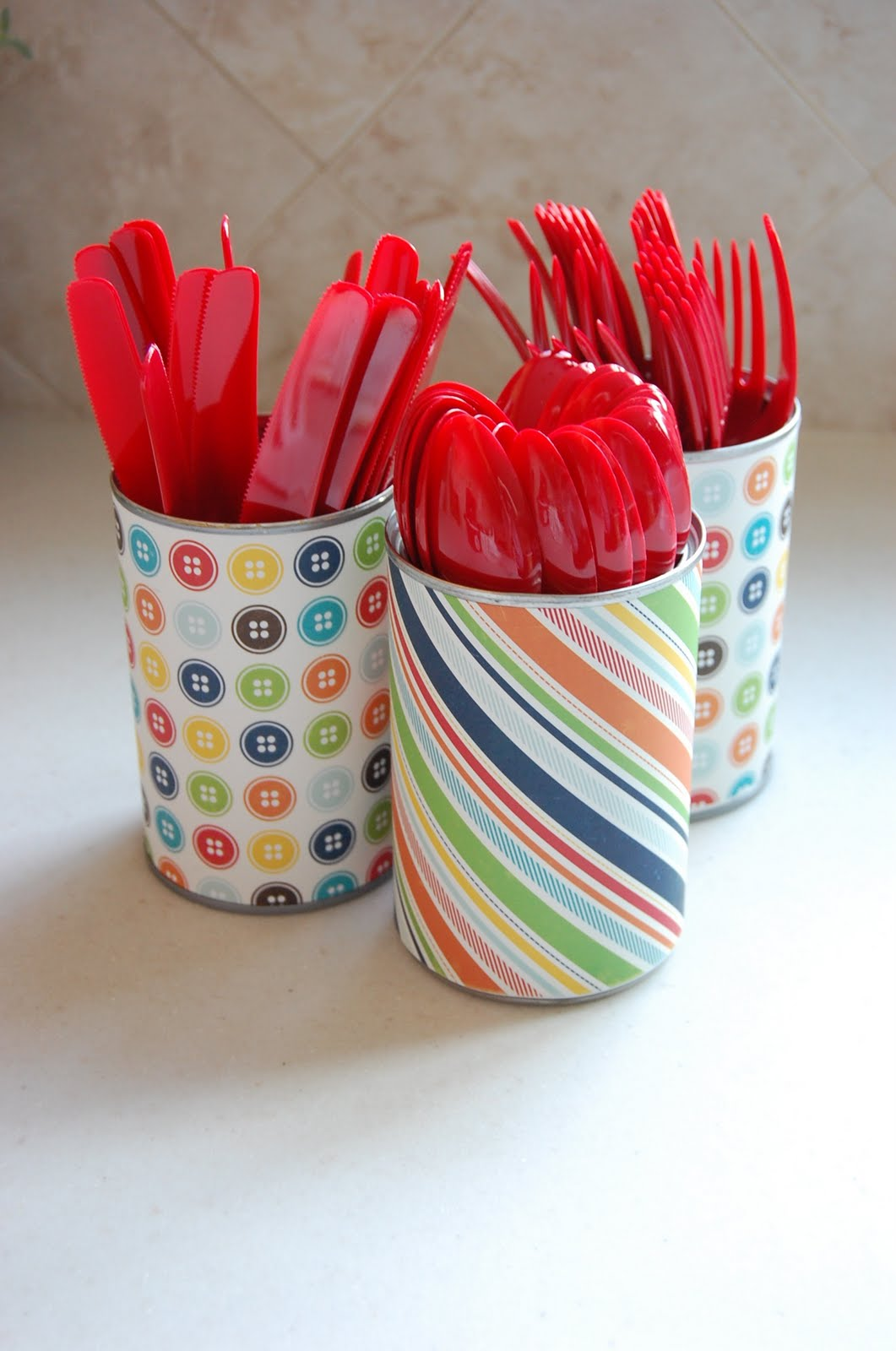 One Creative Momma Diy Utensil Holders