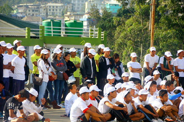 Police-Public Marathon organized by Nagaland Police Kohima Nagaland 5