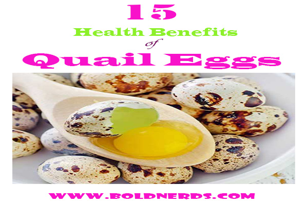 15 benefits of quail eggs