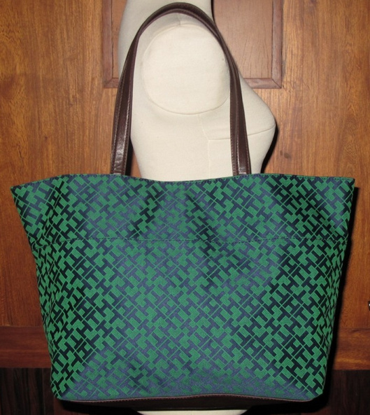 Most Wanted Bags Tommy Hilfiger Tote Bag Large Navy Green