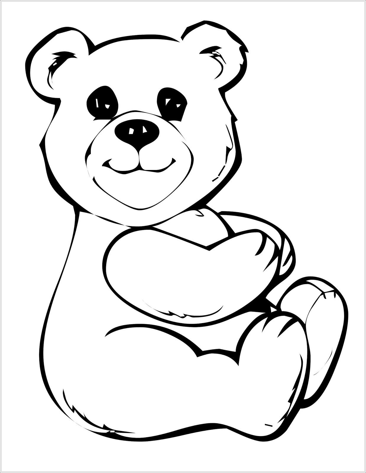 20 ideen für teddybär ausmalbilder - beste wohnkultur