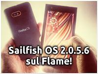Sailfish OS (2.0.5.6) porting sul Flame!