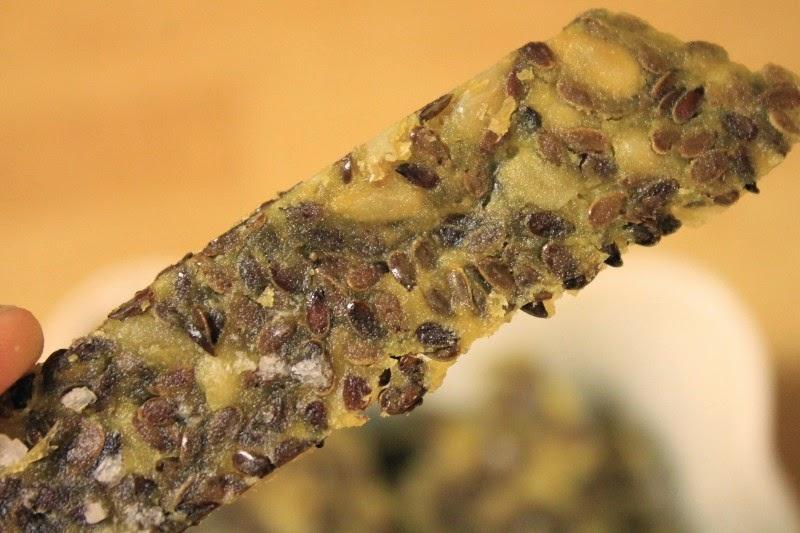 Cracker ai semi di girasole e lino